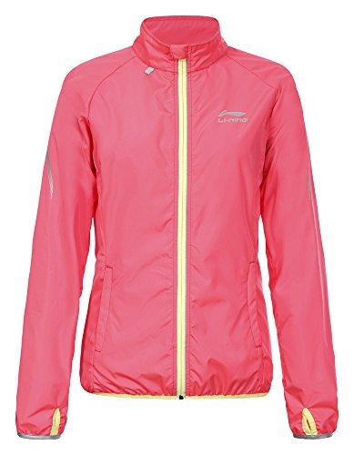 Li Ning Damen Coat Sabrina, Hot Pink, XXL