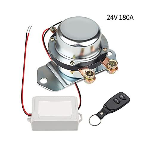 linger Vehículo de Control Remoto inalámbrico de Control de automóviles interruptores Maestros 24V / 12V 180A Interruptor de Corte de Interruptor de Corriente Desconexión electromagnética