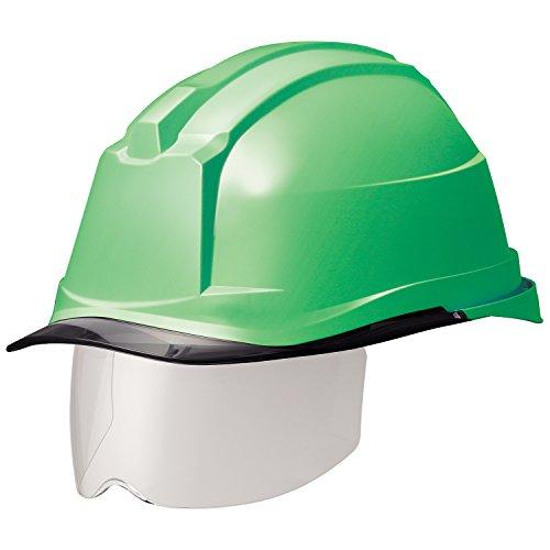 ミドリ安全 ヘルメット 一般作業用 電気作業用 スライダー面 SC19PCLS RA3 αライナー付 グリーン スモーク