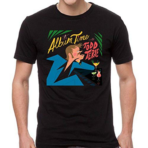 Todd Terje It's Album Time Rock Music Men's Black T-Shirt Unisex,XL