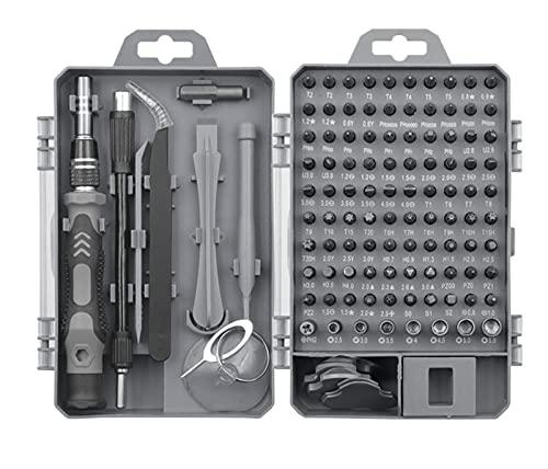 JUSTCHUN 115 en 1 Destornillador Destornillador Destornillador Set de bits multifunción Dispositivo de reparación de teléfono móvil Herramientas de Mano Piezas de Herramientas