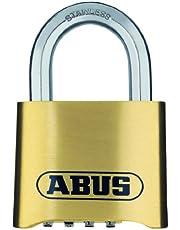 ABUS messing cijferslot 180IB/50 gordijnslot, marine