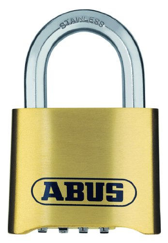 ABUS messing cijferslot 180IB/50 hangslot, marine 180IB/50
