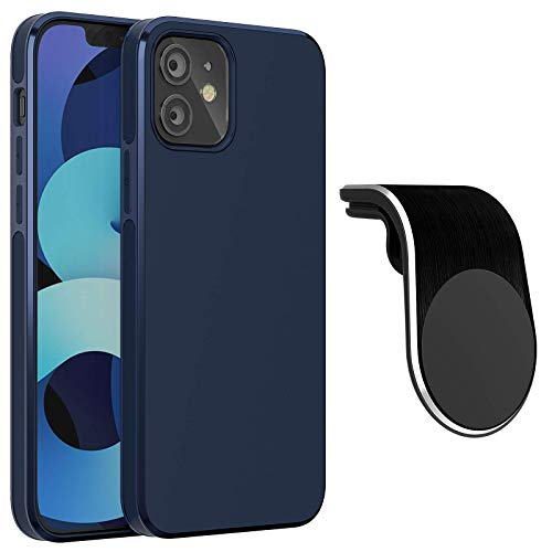 KMMIN Magnetische Hülle Kompatibel mit iPhone 12/iPhone 12 Pro, Handyhülle Schutzhülle (6,1