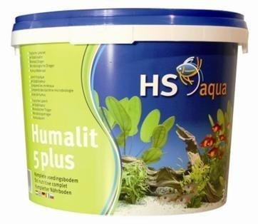Hs Aqua Humalit 5 plus 3 Liter - Kompletter Nährboden auf Laterit-Basis 120