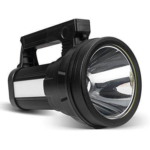 ERAY Linterna LED Recargable 15000 Lúmenes, Linternas LED Alta Potencia 3 en...