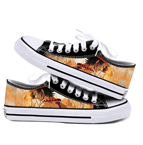 NLJ-lug Onepiece Cosplay Zapatos Zapatillas Zapatos De Lona,39