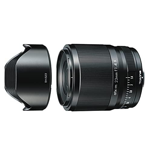 【逆輸入モデル】 トキナー 単焦点レンズ NEW atx-m 23mm F1.4 LTD X フジXマウント APS-Cフォーマット 海外モデル 640340 ブラック
