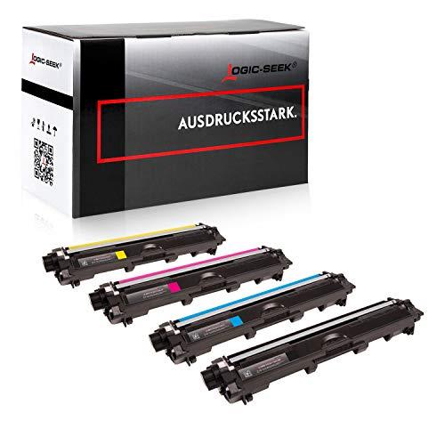 Logic-Seek 4 Toner kompatibel für Brother TN-241 TN-245 DCP-9020 CDW HL-3140 3150 3170 CW CDN CDW MFC-9130 9140 9330 9340 CDN CDW