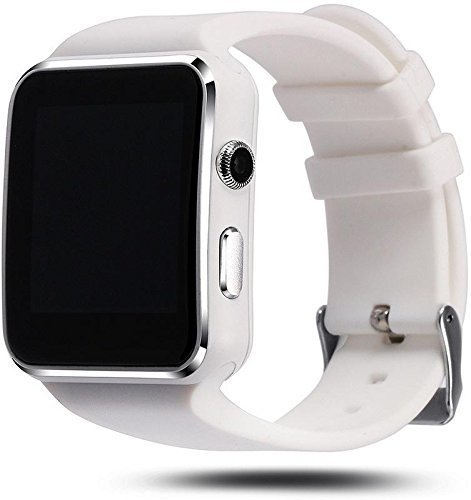 WellTech x6-watch_white-19 Bluetooth Smart Watch (White)