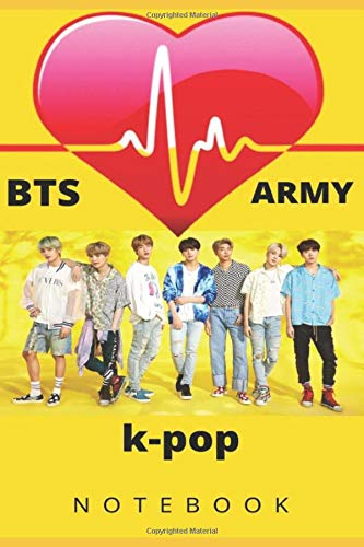 k-pop bts army: notebook
