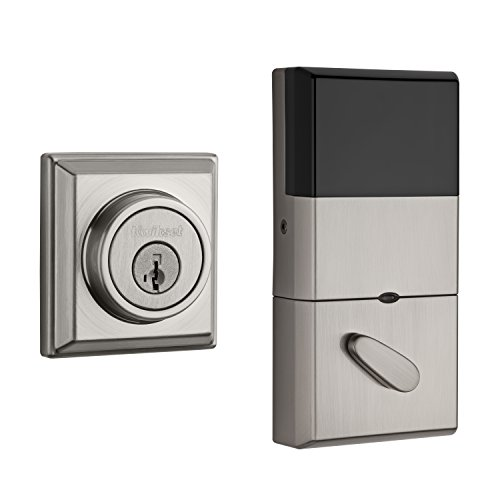 The Contemporary Signature Series Deadbolt with Home Connect technology enables the lock to wirelessly communicate with other devices in home. The lock allows the user (through a third-party smart home controller) to remotely check the door lock status, l