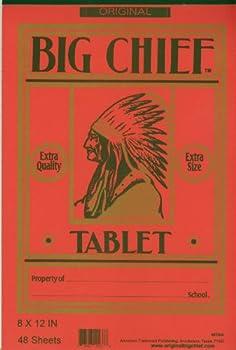 big chief writing tablet