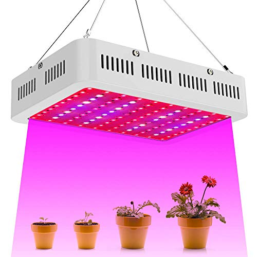 LED Grow Light, 1000W Full Spectrum Plant Light for Indoor Plants Veg and Flower