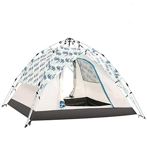 YAOHONG Outdoor tents, tents for outdoor camping thickened, ultra-light automatic equipment, outdoor camping tents, tent rain Travel tent (Size : A)