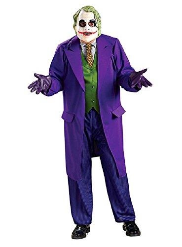 Herren Kostüm Batman The Joker Dark Knight mit Maske,Gr. XL