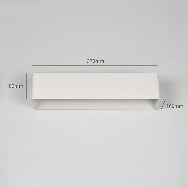 LED Wandlampe Wandleuchte 12W Modern Wandlampen Auf und Ab Innen Wandleuchten Für Badlampe Wohnzimmer Schlafzimmer Treppenhaus Flur Wandbeleuchtung, Warmwei[Energieklasse A+]