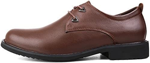 Men' s Genuine Leather British Business Dressing Shoes Oxfords