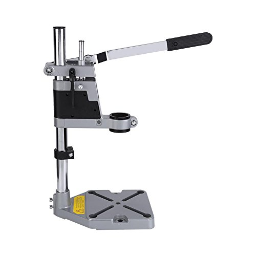 Drill Bench Press Stand, Universal Bench Clamp Drill Press Stand Workbench Repair Tool Clamp for Drilling Collet 38mm/43mm