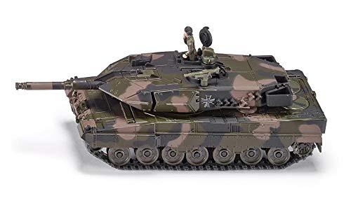 siku 4913 Tanque de combate Leopard, Sobre orugas, Set de pe