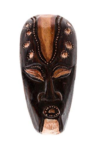 Ciffre 20cm Holz Maske Holzmaske Wandbehang Skulptur Figur Fair Trade Deko HM2000014