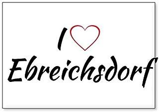 I Love Ebreichsdorf, fridge magnet (design 1)