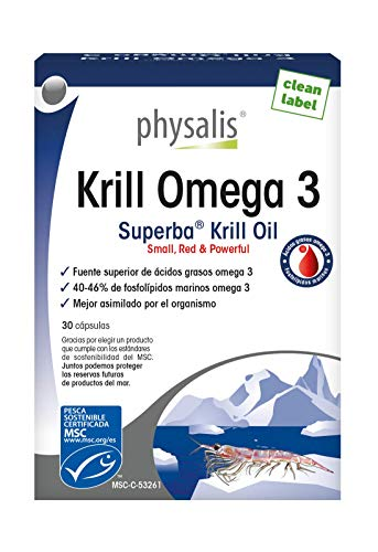 Physalis Krill Omega-3-30 Cápsulas