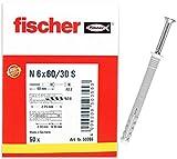 Fischer 50355 N- Z Cheville, Gris