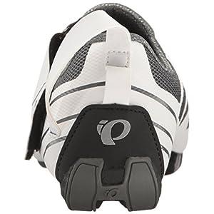 Pearl iZUMi Women's W TRI Fly Select V6 Cycling Shoe, White/Shadow Grey, 38 EU/6.8 B US