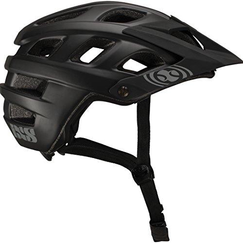 IXS Trail Helm MTB Unisex Erwachsene, schwarz, 58-62/M-L