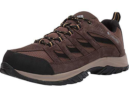 Columbia Men's Crestwood Hiking Shoe, Dark Brown, Baker, 12 Regular US
