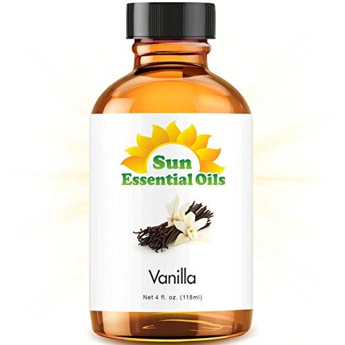 Vanilla Essential Oil (Huge 4oz Bottle) Bulk Vanilla Oil - 4 Ounce