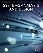 Systems Analysis And Design 7th Edition