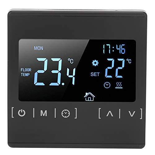 Hapivida Medidor de Humedad del higrómetro del termómetro Digital Interior/Exterior LCD Digital para la Temperatura de la habitación y de la casa Verde