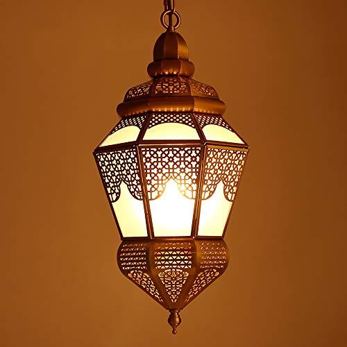 Pn&cc Lámpara Marroquí, Lámpara De Techo, Sombra, Estilo Étnico Destacado, Dormitorio En La Sala De Estar De La Villa Loft
