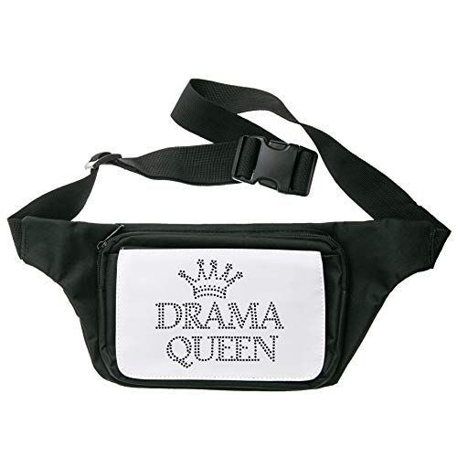 Queen Crown Oh The Drama Queen Cangurera Riñonera Waist Bum Travel Bag Unisex