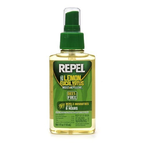 Repel Plant Based Lemon Eucalyptus Insect Repellent 4 fl oz (118 ml) by...