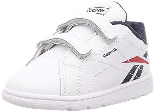 Reebok Rbk Royal Complete Cln 2.0 2V, Zapatillas De Running, Blanco/Maruni/Vecred, 38 Eu