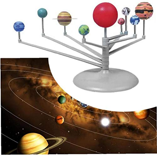 Nueve Planetas Juegos De Construcción, Solar Planetario Kit Modelo Educativo De Los Niños Herramienta Educación Ciencia Juguete Dormitorio Escritorio Decoración De Los Accesorios Para Los Niños Juego