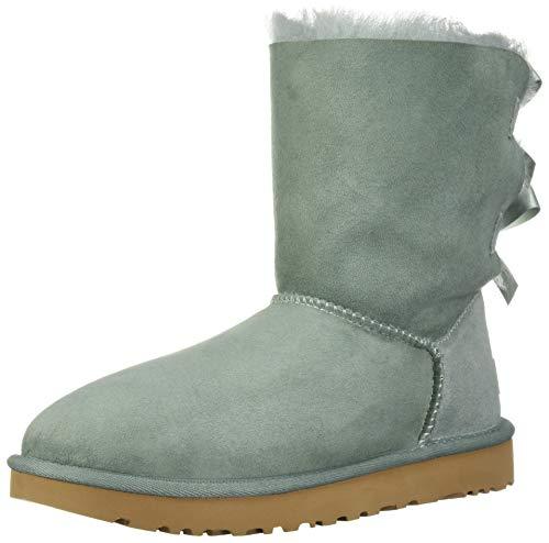 UGG Women's W Bailey Bow II Fashion Boot, sea Green, 8 M US