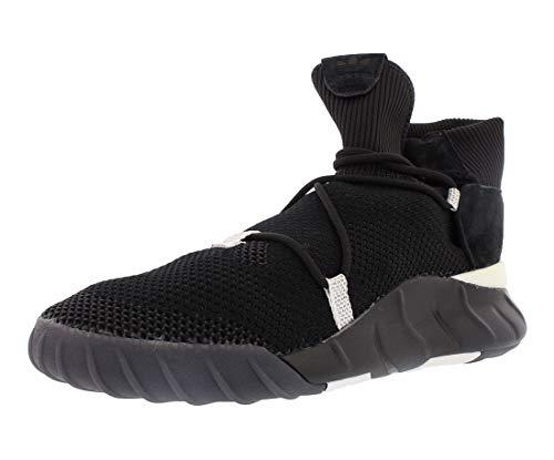 adidas Originals Men's Tubular X 2.0 PK Running Shoe, Utility Black/White, 12 Medium US