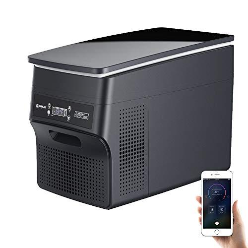 Anbull 12V Car Refrigerator, Portable Car Freezer, APP Control, Portable Refrigerator Car Freezer...