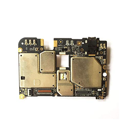 BMNN Cellphone Mainboard Mobile Electronic Panel Mainboard Motherboard Unlocked with Chips Circuits Flex Cable Fit for Meizu Meilan 6 M6 3GB Phone Repair Motherboard (Color : 32GB)