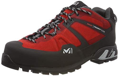 Millet Trident Guide, Zapatos de Low Rise Senderismo Hombre, Rojo (Red-Rojo 0335), 46 EU
