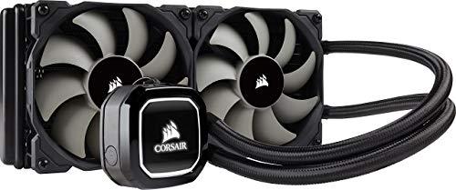 Corsair Hydro H100x Wasserkühlung (2 x 120mm Lüfter, All-In-One High Performance CPU) schwarz