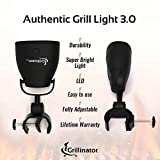 Grillinator Authentic Grilluminator BBQ Grill Light-Ultra Bright Handle Mount LE, Black