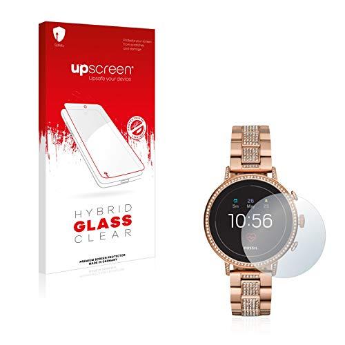 upscreen Hybrid Glass Panzerglas Schutzfolie kompatibel mit Fossil Q Venture HR (4.Gen) 9H Panzerglas-Folie