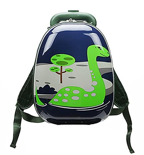 MountRise-Bags Juego de equipaje de viaje para niños con 18 pulgadas, 2 piezas de animales de dibujos animados patrón duro Shell Rolling Maleta, ideal para niños, escuela, presente