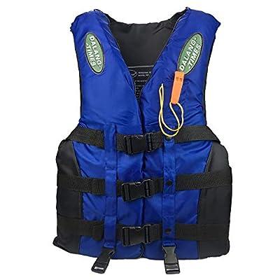 ZIYE Kayak Life Jacket Vest for Adult, S-XXXL Oversized, Personal Aid Jacket Ski Buoyancy Fishing Boating Watersport for Women and Men