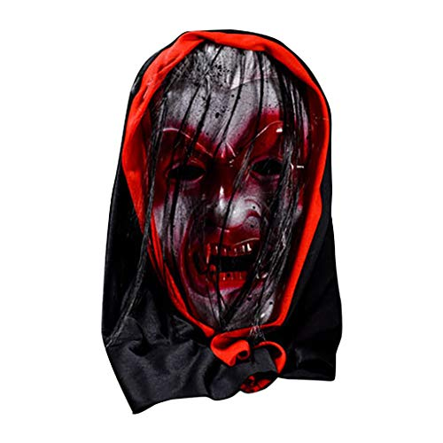 Shan-S Halloween Bloody Mask, Cospl…